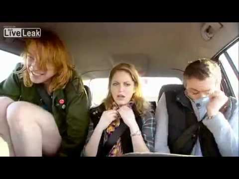 Girl Piss In A Bottle In Car !! video