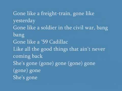 """Gone"" Montgomery Gentry (Lyrics)"