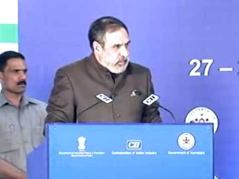Mr Anand Sharma, Minister for Commerce and Industry, Government of India