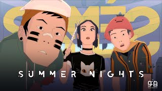 "SIAMÉS ""Summer Nights"" [Official Animated Music Video]"