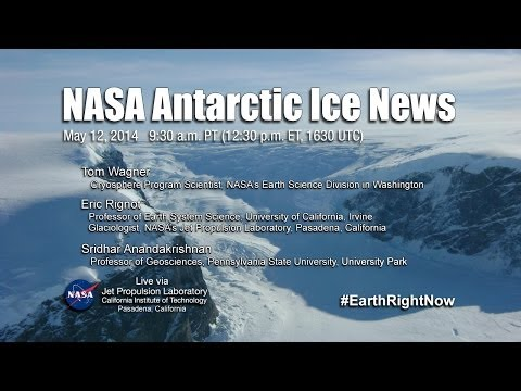 NASA Antarctic Ice News