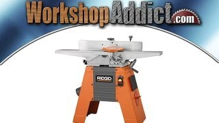 "Ridgid 6 1/8"" Jointer JP06101 Review"