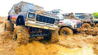 RC Cars MEGA MUD — Ford Bronco, HPI Venture   FJ Cruiser, Axial SCX10 ii   Jeep Cherokee
