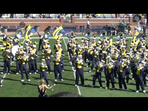 Van Halen's Jump and Panama - Post Game Show - Michigan Marching Band