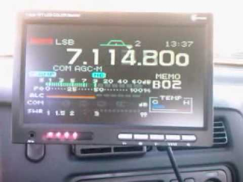 icom ic 7000  TV LCD 7