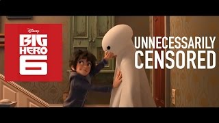 "Big Hero 6 Trailer Unnecessarily Censored: ""%&$#ing Robots"" Edition"