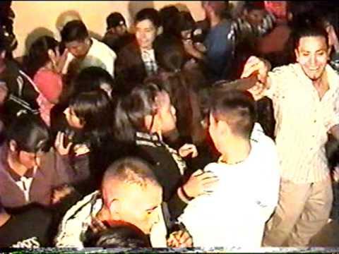 baile realizado en el salon comunal en la aldea los gonzalez palestina de los altos