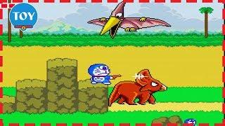 Chơi Doremon phiêu lưu tập 1 - Lạc vào thế giới khủng long và khu rừng đầy cạm bẫy cu lỳ chơi game