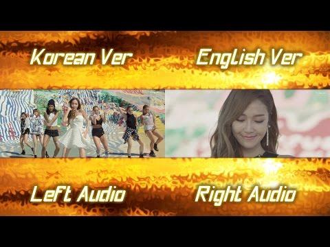 Jessica - Fly (Korean English MV Comparison)