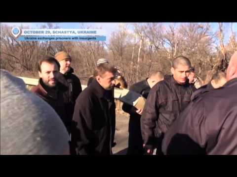 Ukrainian army and Kremlin-backed militants exchange prisoners