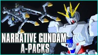 This High Grade is HUGE! 1/144 HGUC Narrative Gundam A-Packs - MECHA GAIKOTSU REVIEW
