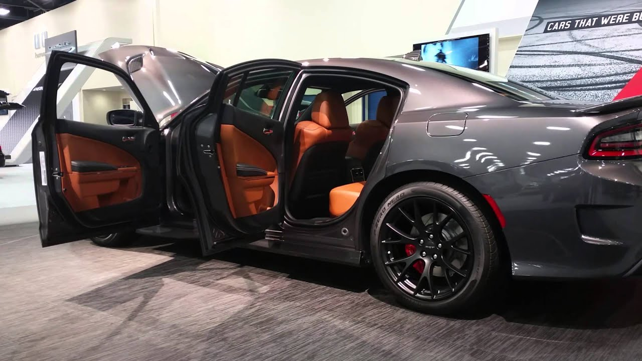 Dodge Charger Srt Hellcat >> 2015 Dodge Charger Hellcat Miami Auto Show - YouTube