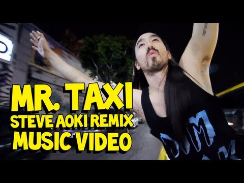 Mr. Taxi (Steve Aoki Remix) - Girls' Generation MUSIC VIDEO