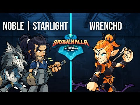 Starlight vs Noble | Wrenchd - 1v1 Top 32 - Brawlhalla World Championship 2017