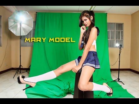 Teen Model Mary Photoshoot Manila - Canon 650d video
