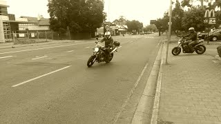 Motorbike trip to Strathalbyn Adelaide Hills.