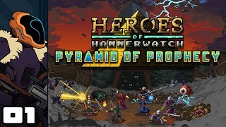 Let's Play Heroes of Hammerwatch: Pyramid of Prophecy - Part 1 - Are You Not Entertained?!