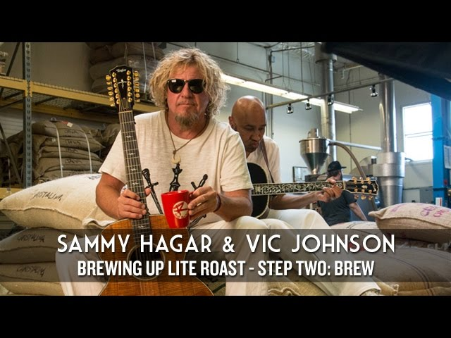 "Sammy Hagar: Brewing Up ""Lite Roast"" (Step Two - Brew)"