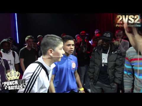 Miista Mootjje & Ajay vs Chris Meth & Kaascouse 2vs2 PunchOutBattles