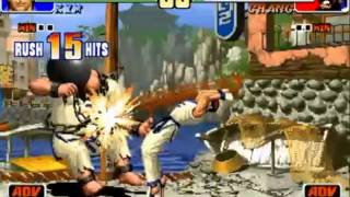 Kim Kaphwan Tribute: Combos from All KOF´s with Let´s go to Seoul Theme!