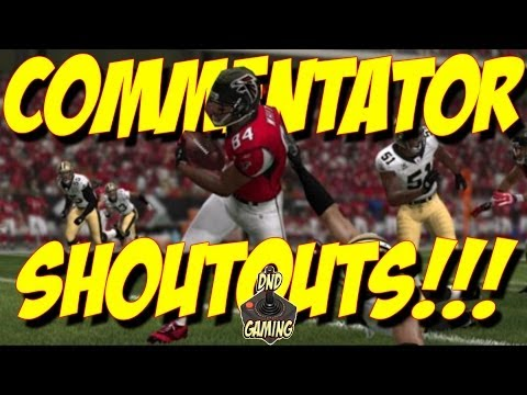 COMMENTATOR SHOUTOUT VIDEO | CHECK THESE PEOPLE OUT PLEASE | MADDEN 25 TIPS | DND GAMING