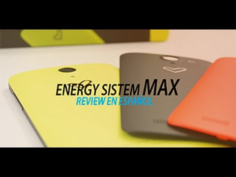 Energy Phone Max, review en Español