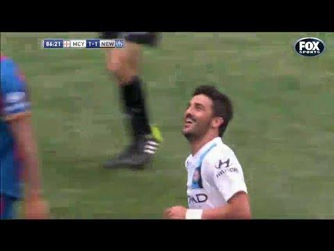 David Villa vs Newcastle Jets 19.10.2014  | Individual Highlights