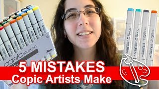 5 Mistakes Copic Artists Make
