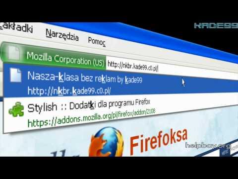 Jak Wyłączyć Reklamy na NK w Przeglądarce Mozilla Firefox