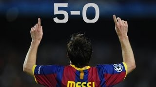 Lionel Messi vs Real Madrid (H) (Barca 5-0 Madrid) (11/29/10)|by IsaacFutbol4hd