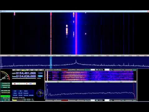 HDSDR + EzTV666 RTL2832U (Digital signals around 2m VHF) #02