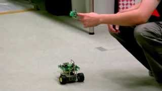 Magic Ring: remote control CUTEBOX using finger action