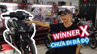 Đánh giá test ride Honda Winner X độ đèn trợ sáng hốc kèn