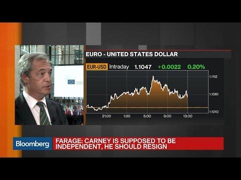 Farage: U.K. Needs Free Trade Agreement With EU
