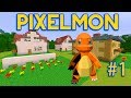 Minecraft: Pixelmon Adventures Ep 1 - Leaving Pallet