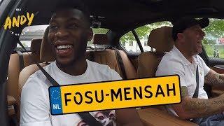 Timothy Fosu-Mensah - Bij Andy in de auto