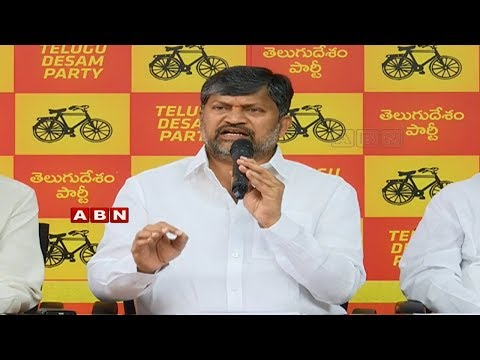 T-TDP President L.Ramana Holds Press Meet | ABN Telugu