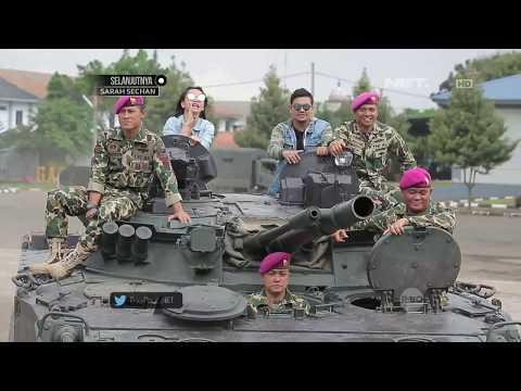download lagu Serunya Hesti Dan Indra Bekti Cobain Naik Tank Terbaru Milik Korps Marinir gratis