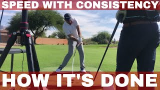 Learning from the world's MOST CONSISTENT driver of the golf ball. GOLF Speed Vs. Consistency