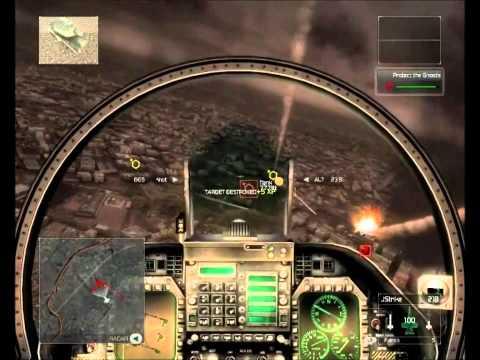 HAWX detonado comentado em portugues (01) em HD