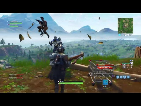 Fortnite Gameplay Best Ps4 Player #Recon Game Blockbuster skin Crazy Squad Games!
