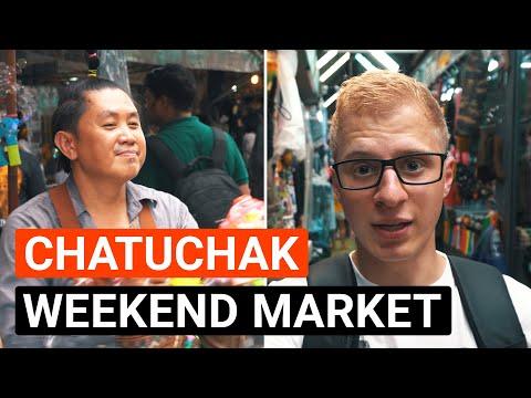 Chatuchak Weekend Market (Größter Markt Asiens) | Thailand Vlog #03 (4K)