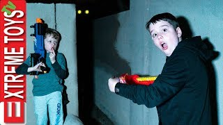 The Mystery Backyard Creature! Sneak Attack Squad Spooky Beast Trouble
