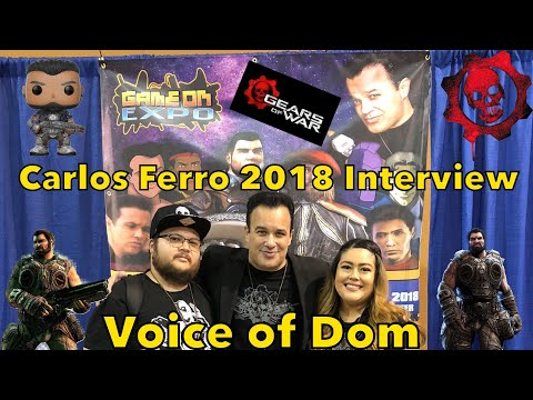 Carlos Ferro (Dom in Gears of War) Game On Expo 2018 Interview