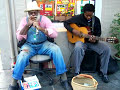 New Orleans French Quarter Jazz-Blues Musicians