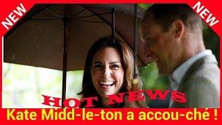 Kate Middleton a accouché! Découvrez le sexe du bébé