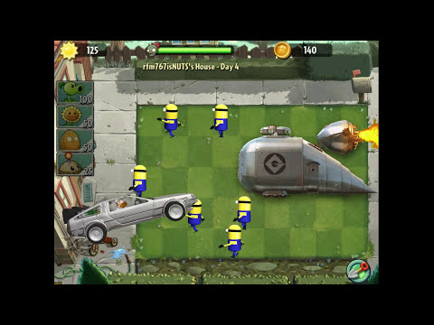 Plants vs. Zombies 2 - Despicable me!