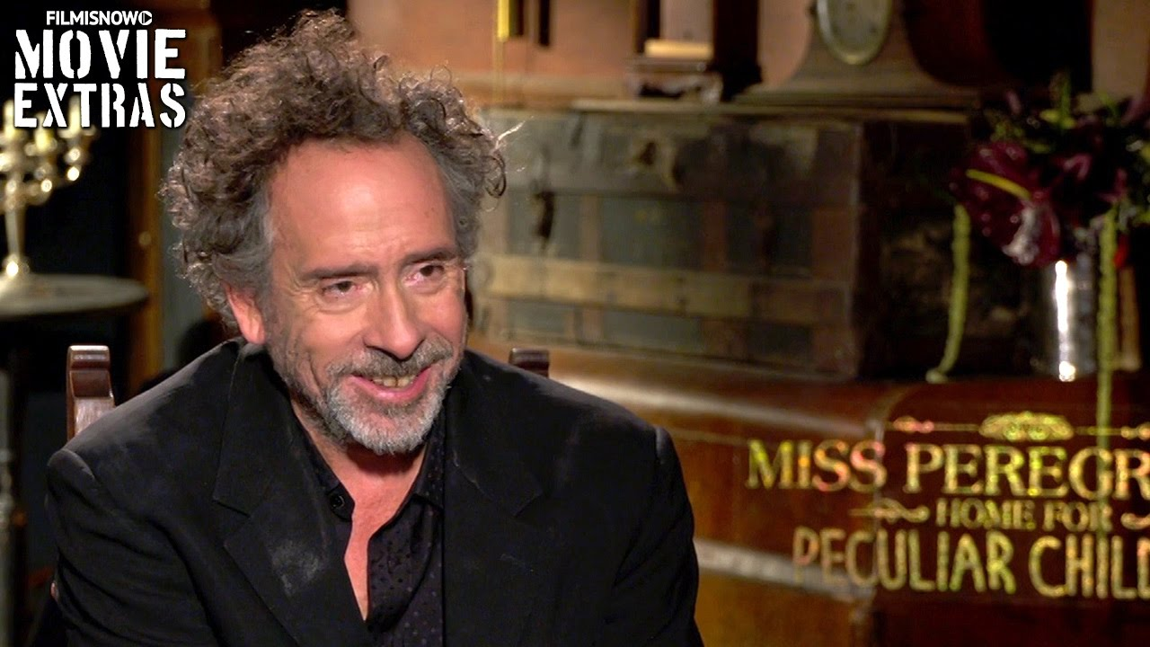Miss Peregrine's Home For Peculiar Children (2016) - Tim Burton talks about the movie