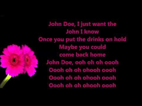 B.o.B ft.  Priscilla - John Doe LYRICS