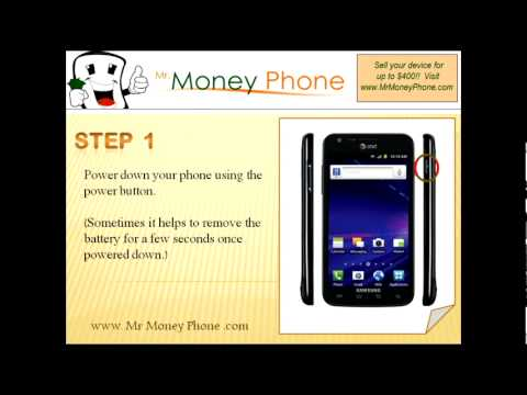 HARD RESET Samsung Galaxy S II Skyrocket HD SGH-i727 (external) (RESTORE FACTORY RESET) Video